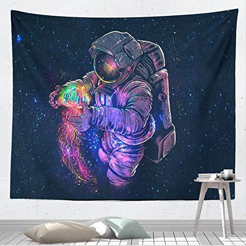 Cielo estrellado dormitorio hogar cortina negro dormitorio cama tapiz noche pared tapiz colgante de pared tapiz bohemio 150X200CM