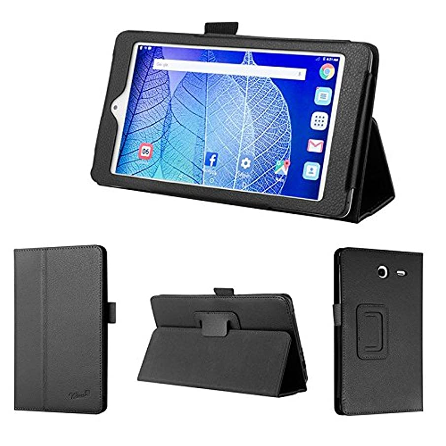 wisers 2016 ALCATEL ONETOUCH POP 7 LTE 7-inch tablet case / cover, black