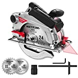 Circular Saw, Meterk Circular Saw (1500W 4700RPM), Cutting 65mm...
