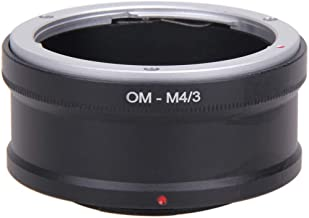 OM-M4 Lens Adapter Ring Lens MICRO 4 3 M43 Camera Body Reverse Lens Adapter Ring for Olympus Black