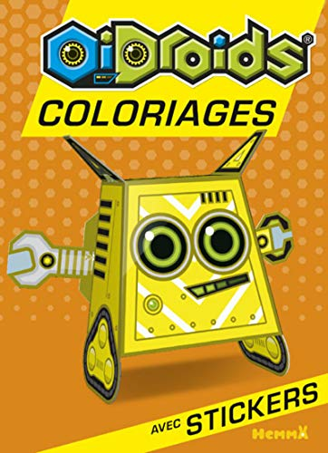 OiDroids Coloriage avec stickers (French Edition)