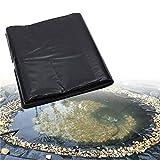 CGF- Teichfolie, 0,2 mm / 0,3 mm Dicke Teichhaut Teichfolie Schwarz HDPE Teichfolie für Wasserfall, Fischteiche, Gartenbrunnen (Gewicht: 300 g/m²)