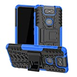 Zenfone 6 ZS630KL Case,Labanema Heavy Duty Shock Proof Rugged Cover Dual Layer Armor Combo Protective Hard Case Cover for Asus Zenfone 6 ZS630KL /Zenfone 6Z ZS630KL(Not fit Other Model) - Blue