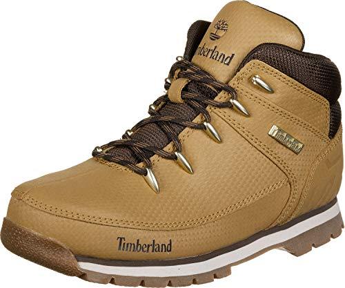 Timberland Unisex-Kinder Euro Sprint Klassische Stiefel, Gelb (Wheat Tec Tuff), 39 EU