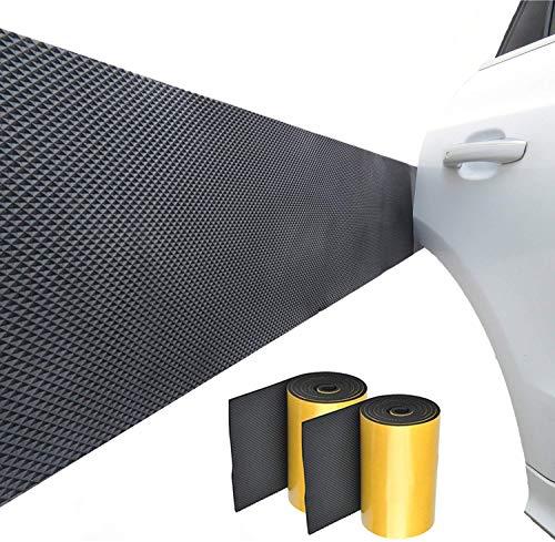 Garagen Wandschutz Selbstklebend, Je 2M Lang, Wasserabweisend Anti-kollision und Anti-reibung Türkantenschutz Für Auto und Garagenwand,2 Pack