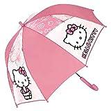 Paraguas Hello Kitty rosa Burbuja