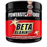 BETA ALANIN CAPS | 300 Kapseln | HOCHDOSIERT | Reines Beta-Alanine in Arzneibuchqualität für mehr Kraft, Muskelausdauer & geringere Übersäuerung | Mit Vitaminen | Made in Germany