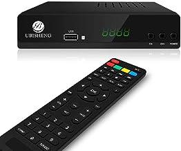 Decoder Ricevitore Digitale Terrestre TV DVB-T2 IPTV H.265 Full HD 1080P, Nuovo Standard Con Codifica HEVC Main 10 Bit, Wi...