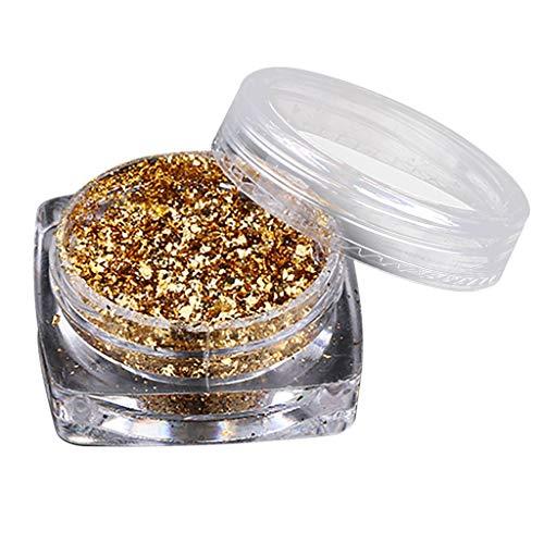 ChallengE Pollen transparent de galvanoplastie de feux d'artifice de poudre de caméléon de farine de miroir d'ongle(Nail Mirror Flour Transparent Chameleon Powder Fireworks Pollen Electroplating)