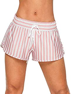 Lorna Jane Women's Vintage Stripe Run Short