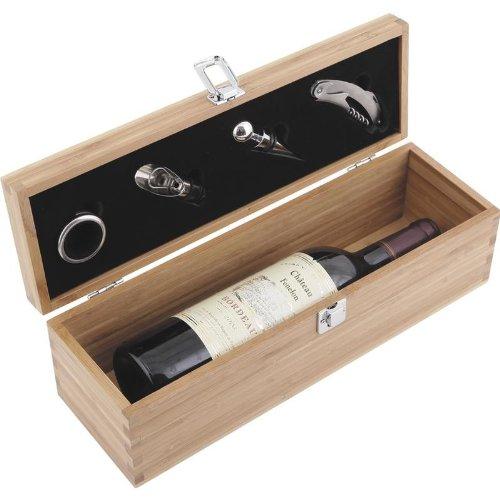Coffret 4 accessoires et emplacement d une bouteille