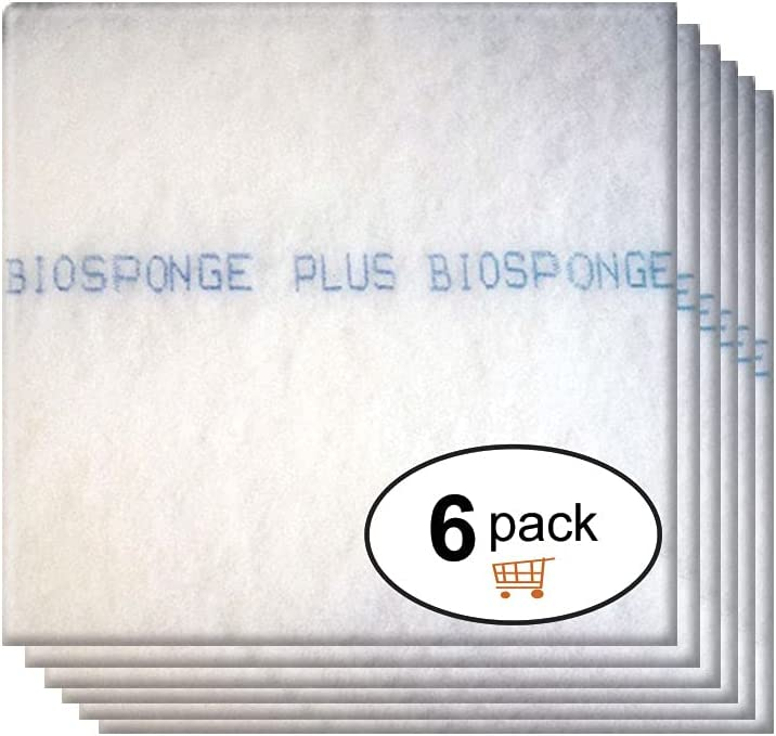 OFFicial shop 17 x 21 BioSponge plus air filter refill 6 Easy-to-use year suppl One pack