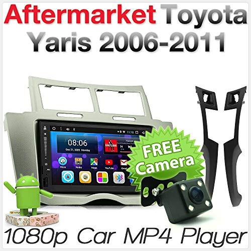 Android MP3 para Toyota Yaris XP90 2006 2007 GPS estéreo Radio Fascia Kit