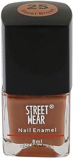 Street Wear Nail Enamel, Hazel Brown, 8ml