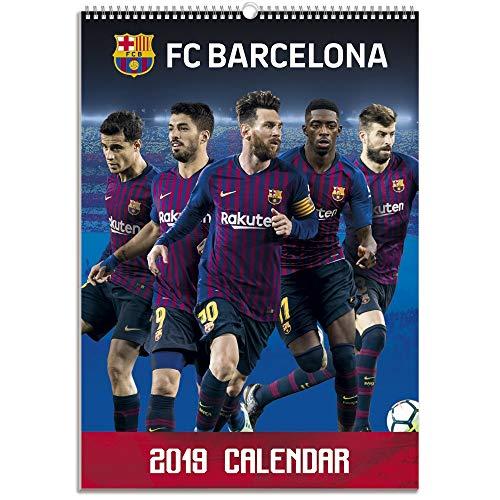 Grupo Erik Editores Calendario 2019-12 Láminas A3 FC Barcelona