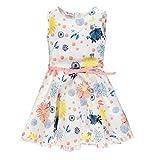 Brums Abito Popeline Fantasia Vestito, Multicolor 01 997, 116 (Taglia Unica: 6A) Bambina