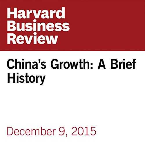 China's Growth: A Brief History copertina
