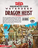 Gale Force Nine Dungeons & Dragons - Waterdeep Dragon Heist DM Screen