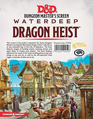 Gale Force Nine LLC GFN73709 D&D DM Screen-Waterdeep Dragon Heist, Multicoloured