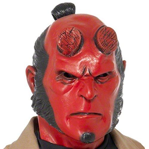 Masque Hellboy original masque en latex Hell Boy masque de démon latex démon diable masque de diable