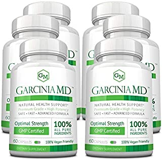 Approved Science® Garcinia MD - Increase Metabolism and Enhance Mood. All Natural & Vegan Friendly. 60 Caps...