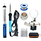 YaeTek 60W 110V Electric Soldering Iron Kit, Adjustable Temperature...