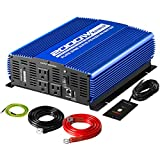 Kinverch 2000W Pure Sine Wave Power Inverter Converts 12V DC to 110V AC with...