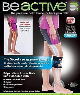 Be-Active Brace Acupressure Pad Back Pain Sciatica
