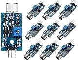 OSOYOO - Módulo de detección de sonido para micrófono Arduino Raspberry Pi 2 3 3B+ 4 Robot Smart Car