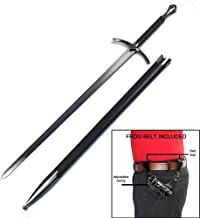Ace Martial Arts Supply Medieval Knight Arming Sword with Scabbard