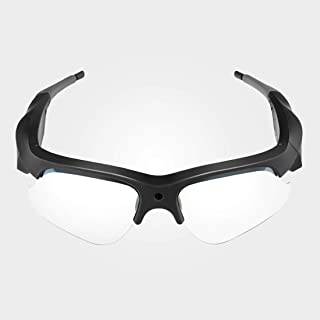 Camera Glasses- 1080P HD Video Camera-32G Memory Card-Smart Glasses with Video and Photo...
