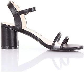 ROMEO GIGLI Luxury Fashion Womens 984NERO Black Sandals | Season Outlet