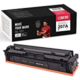 LEMERO Toner [sin Chip] Compatible para HP 207A W2210A para HP Color Laserjet Pro M255dw MFP M282nw M283cdw M283fdw, Negro