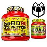 Amix Pro Iso HD 90 CFM Protein 1800gr Moca Choco Cafe + Bcaa Instant + Mezclador