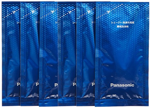 [Bulk buying set] Panasonic LAMDASH shaver cleaning charger dedicated cleaning agents -6 pieces-...
