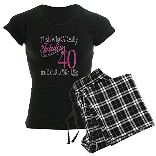 CafePress 40Th Birthday Gifts Womens Novelty Cotton Pajama Set, Comfortable PJ Sleepwear