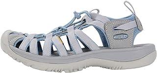 KEEN Women's Whisper Sandal, blue shadow/alloy, 8 M US