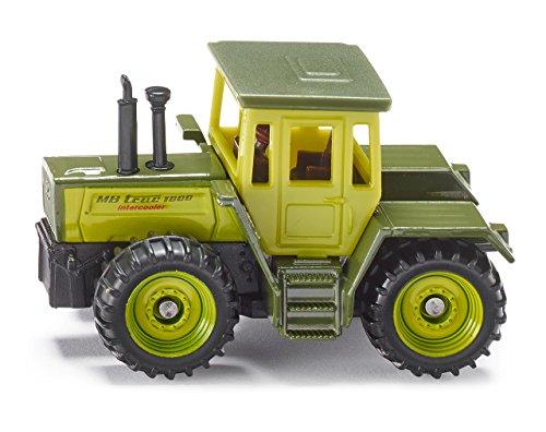SIKU 1383 - Tracteur MB, Métal/Plastique, Cabine Amovible, Vert