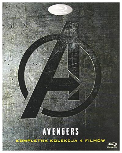 Marvel Studios Avengers 1-4 Complete Boxset + Bonus Disc (BOX) [5Blu-Ray] [Region Free] (IMPORT) (Keine deutsche Version)