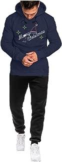 Sweatshirt for Men,Male Hoodie Sweatshirt Casual Sport Nice Christmas Printing Plus Velvet Suit Classic Sweater