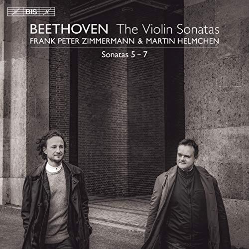 ベートーヴェン : ヴァイオリン・ソナタ第5-7番 / フランク・ペーター・ツィンマーマン&マルティン・ヘルムヒェン (Beethoven : Violin Sonatas No.5-7 / Frank Peter Zimmermann & Martin Helmchen) [SACD Hybrid] [日本語帯・解説付き] [Import]