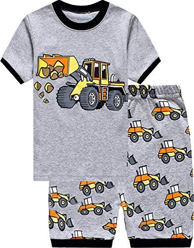 Tarkis Jungen Pyjama Schlafanzüge kurz Zweiteiliger Schlafanzug, 3-bagger, 104 (Herstellergröße:120)