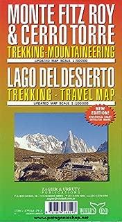 Monte Fitz Roy & Cerro Torre : Trekking-Mountaineering and Lago Del Desierto : Trekking - Travel Map by Sergio Zagier (2014-10-01)