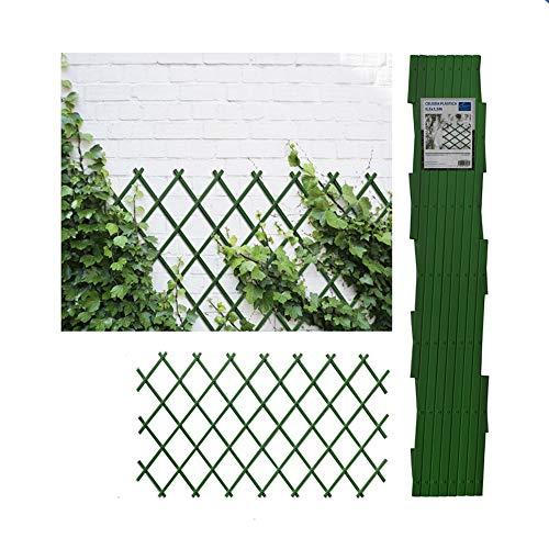 Comercial Candela Celosia Extensible Plastica Color (0.5x1.5 Metros, Verde)