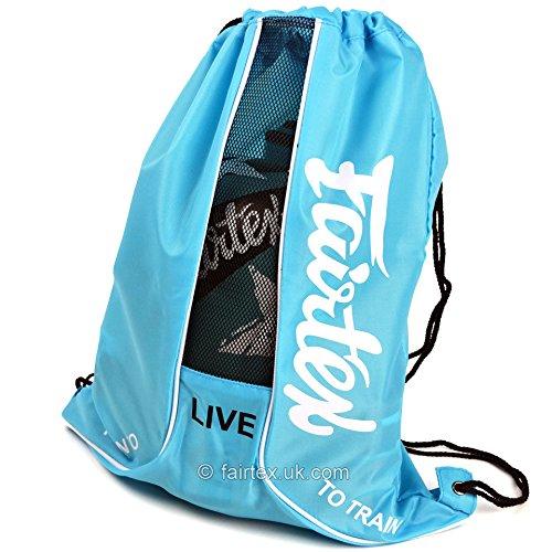Fairtex Sky Blue Sach GYM Bag Muay Thai Sports Bag