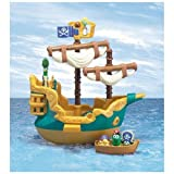 Veggie Tales Pirate Ship Playset