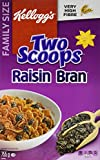 Kellogg's Two Scoops Raisin Bran Cereal 775g
