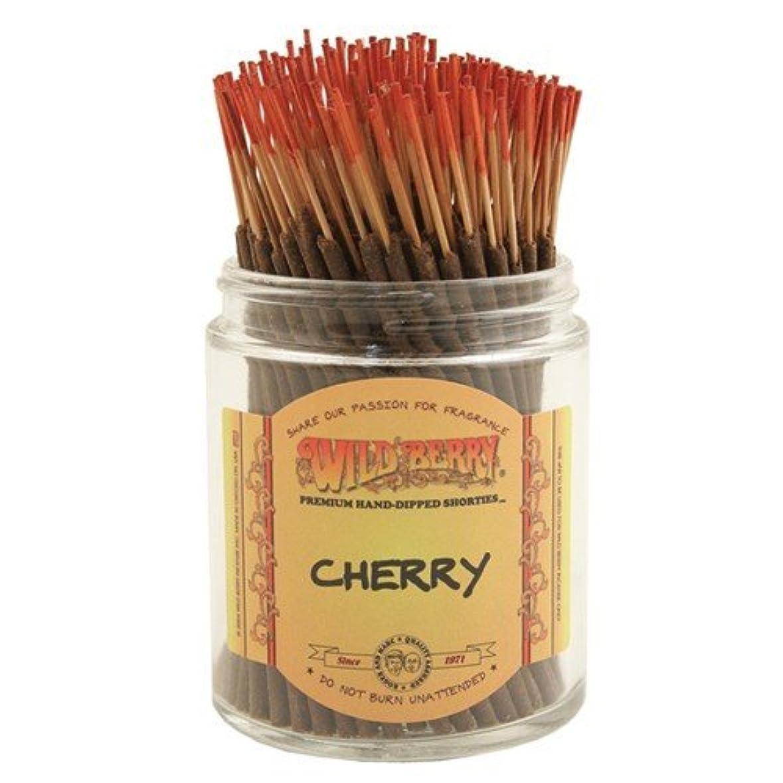 延期する南方の大騒ぎWildberry Cherry Shorties Incense Sticks 100pack [並行輸入品]