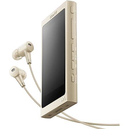 ソニー ウォークマン Aシリーズ 32GB NW-A46HN : Bluetooth/microSD/ハイレゾ対応 最大39時間連続再生 ノイズキャンセリングイヤホン付属 2017年モデル ペールゴールド NW-A46HN N