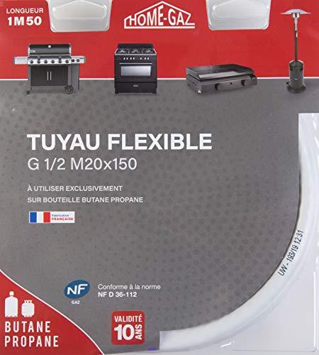 Home Gaz Flexible butane/propane 1,5 m 10 ans